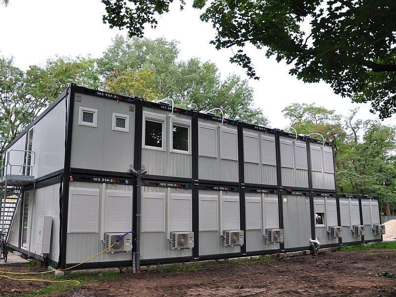 Baubüro Containeranlage