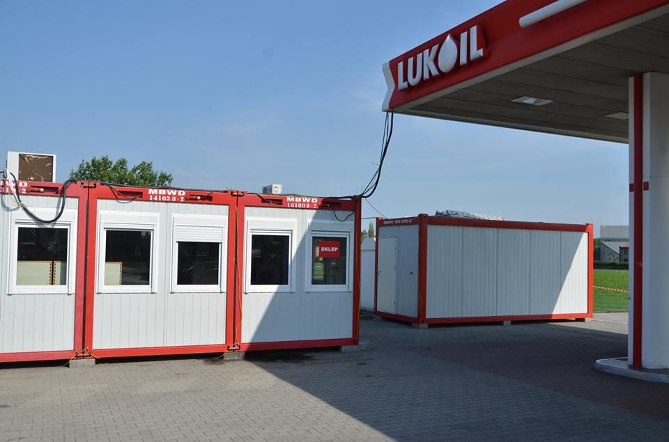 Containeranlage für Lukoil