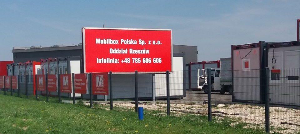 Neue Mobilbox Niederlassung in Polen errichtet