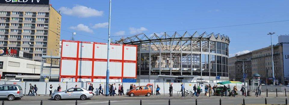 Baustellen-Büro Warschau