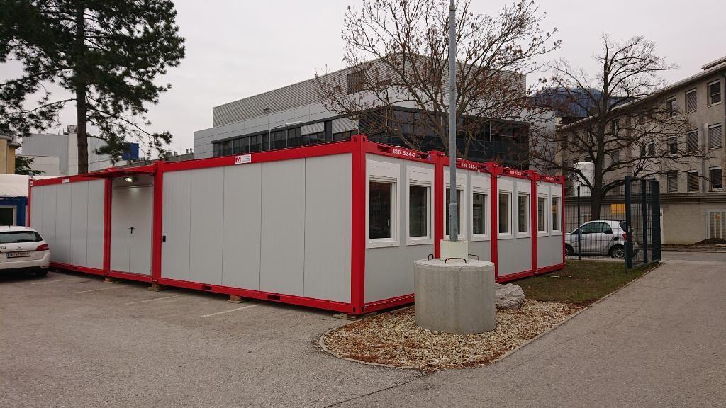 Betriebsfeuerwehr-Containeranlage in Wien