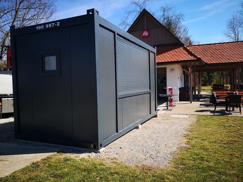 Gastro-Container in der Steiermark