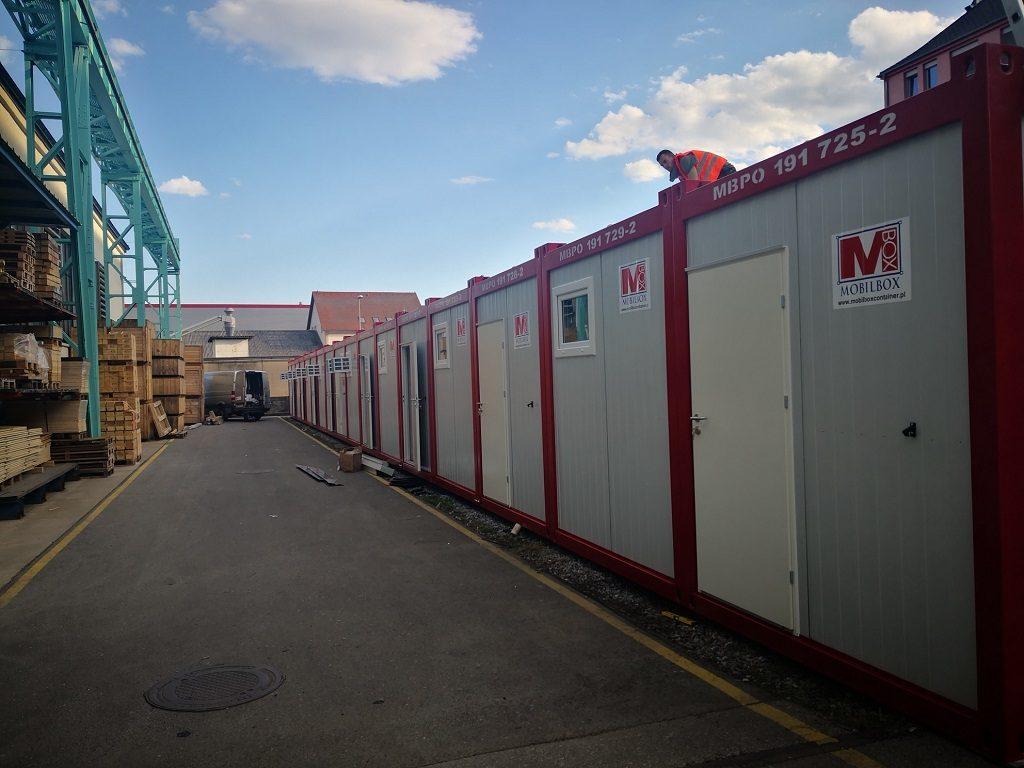 Mobilbox Containeranlage in Graz