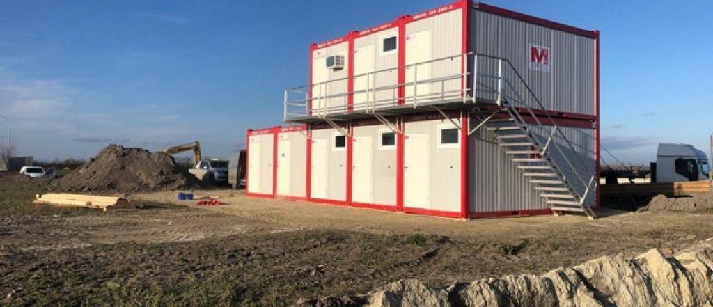 Containeranlage Neusiedlersee