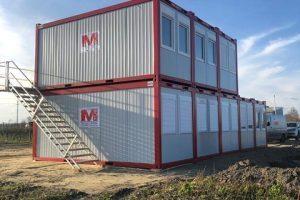 Mietcontaineranlage