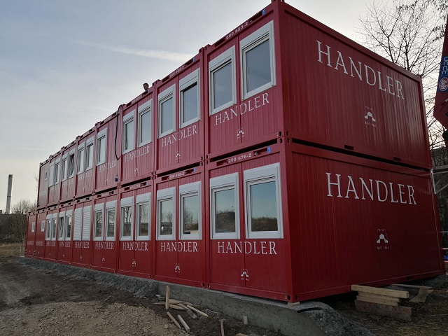 Containeranlage Sankt Pölten