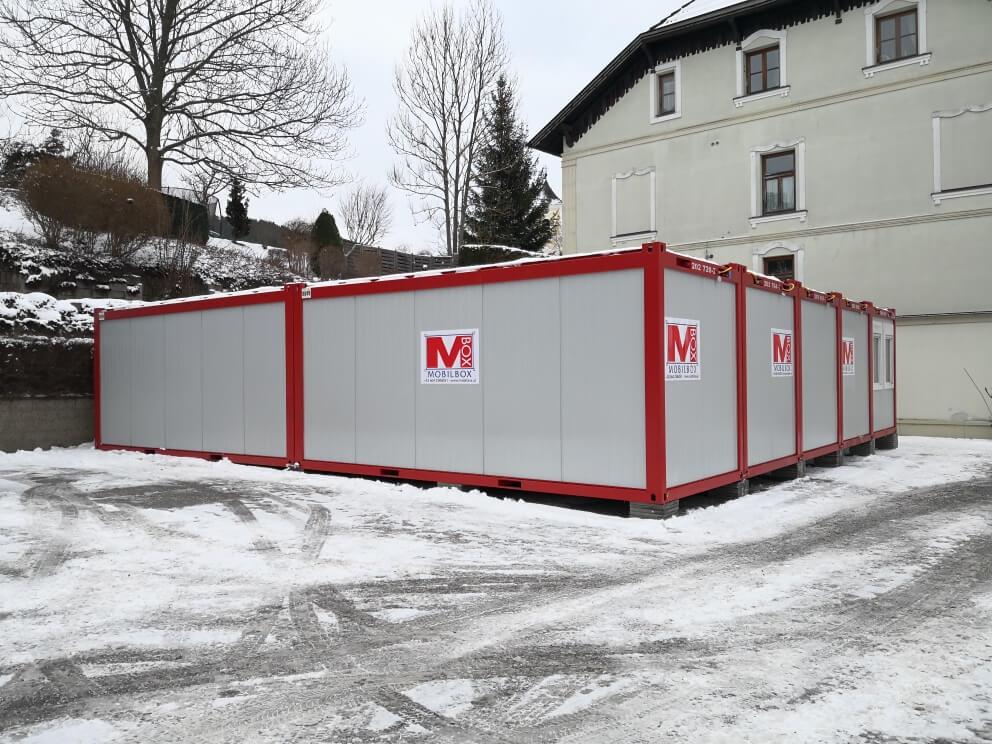 Mietcontainer Kaufhaus