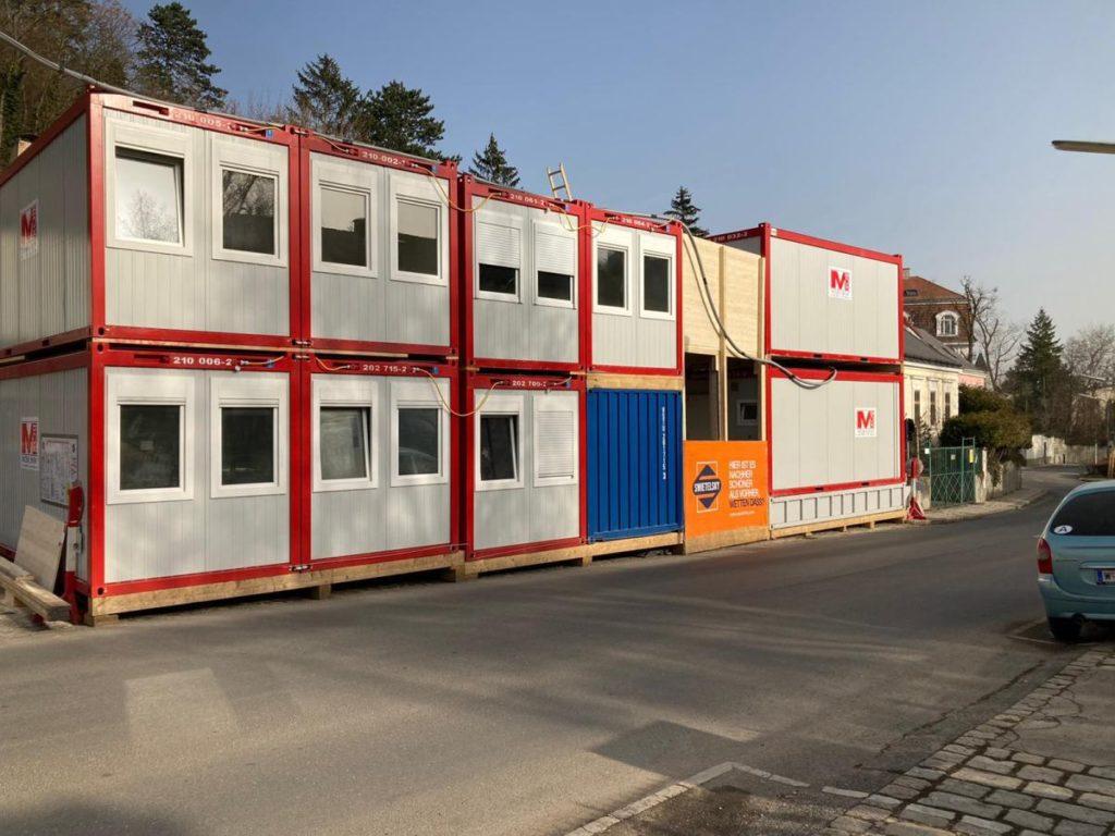 Mietcontaineranlage Wien