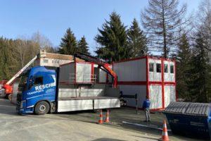 Vermietung von container