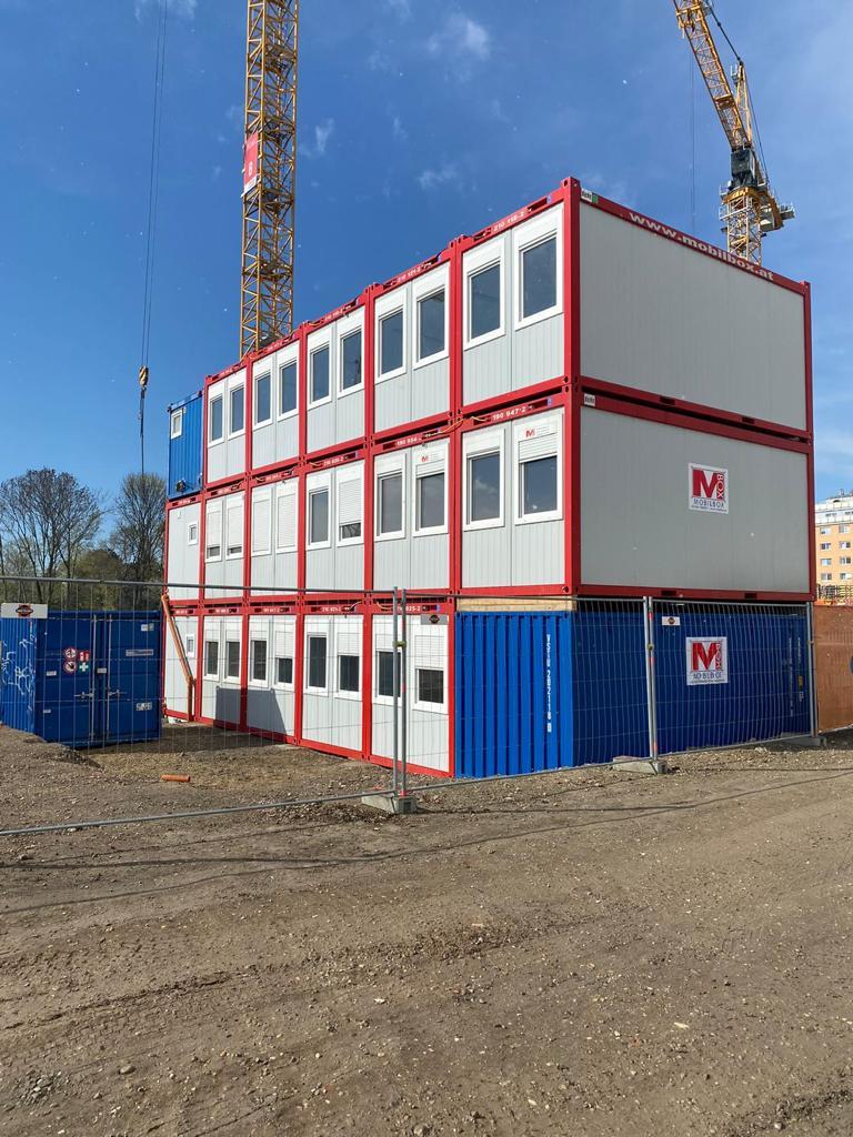 Containeranlage Wien 22.