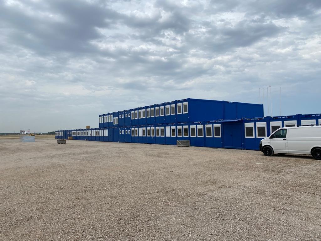 200 St. Containeranlage
