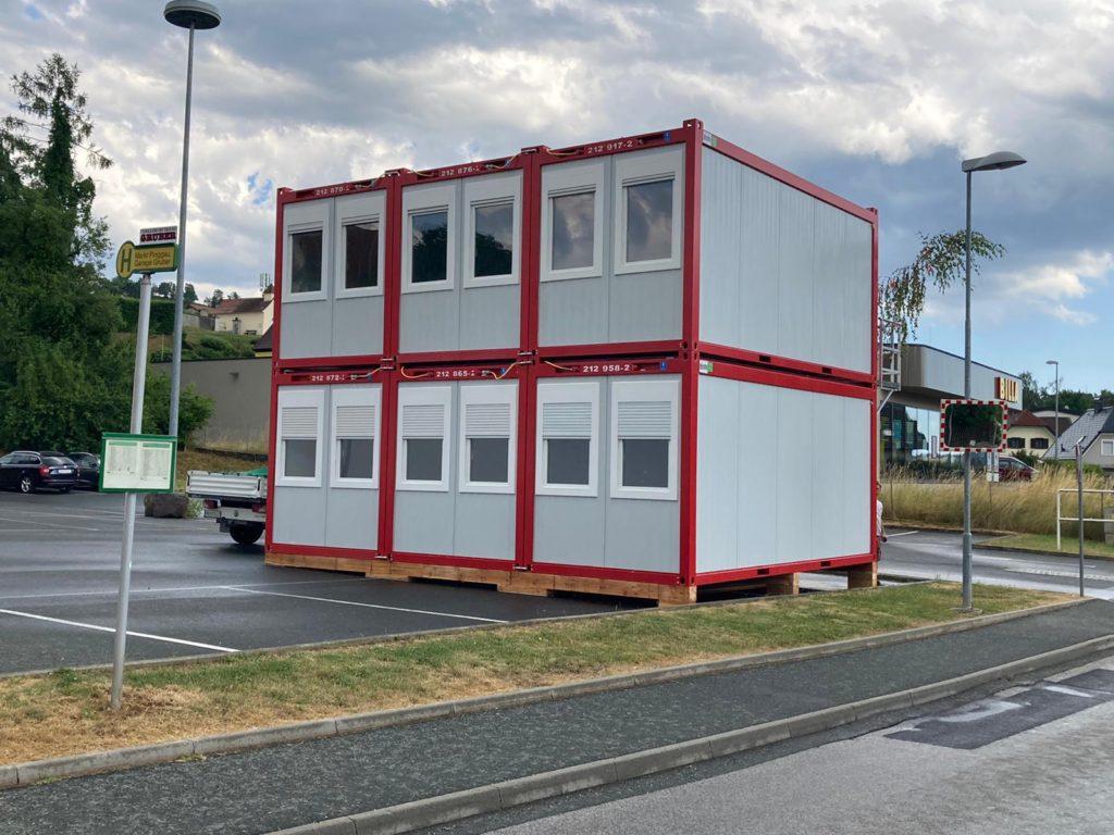 Containeranlage Pingau